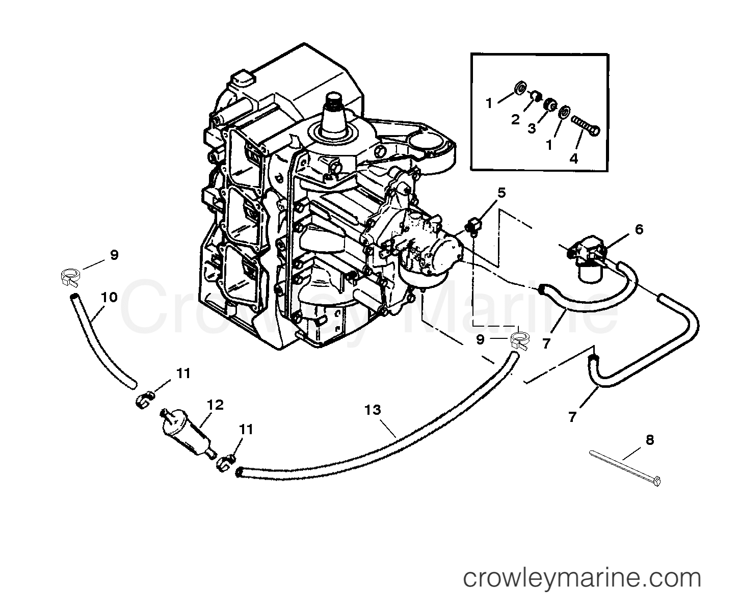Fuel Filter And Prime System