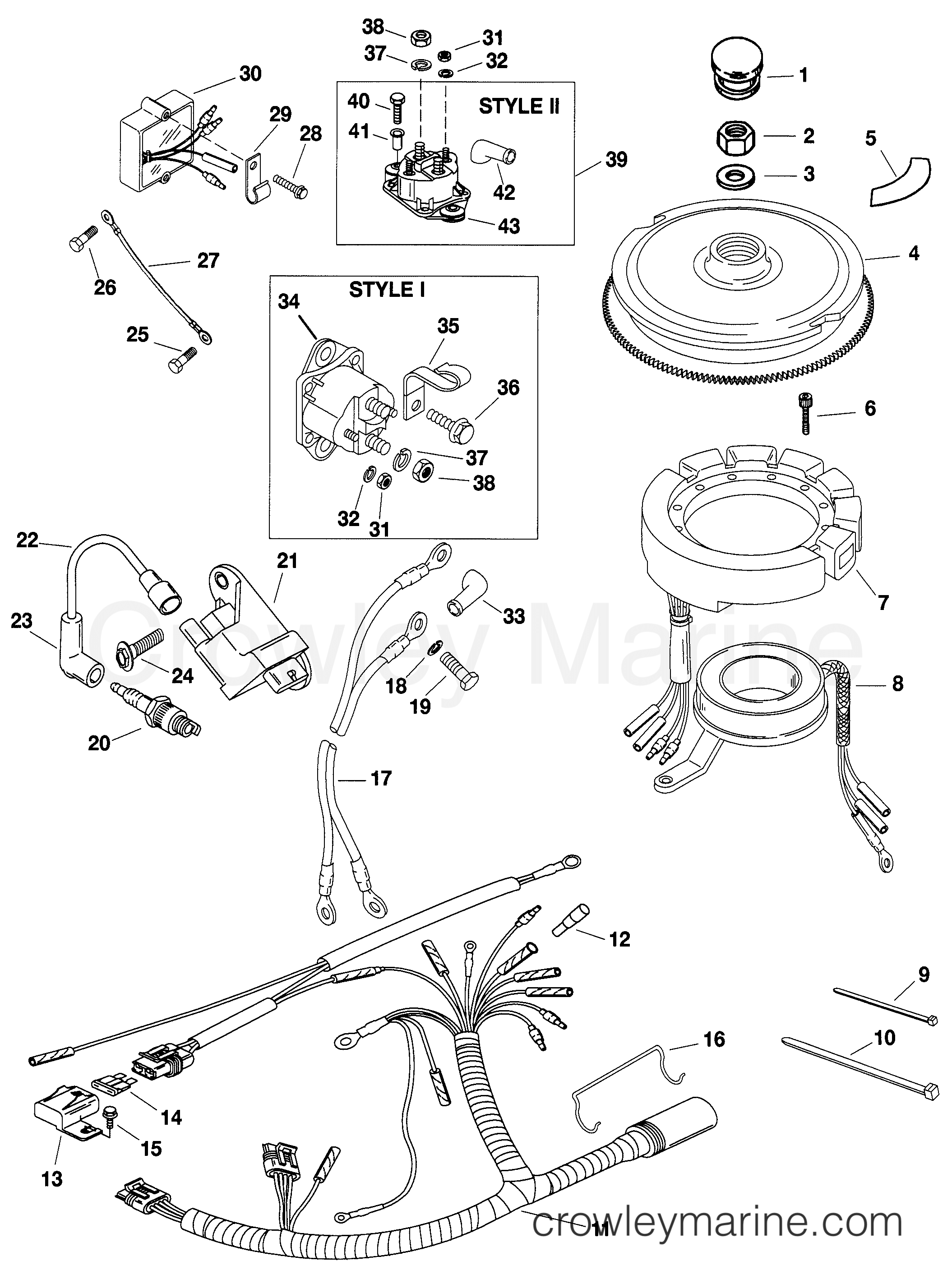 Ignition And Electrical Components