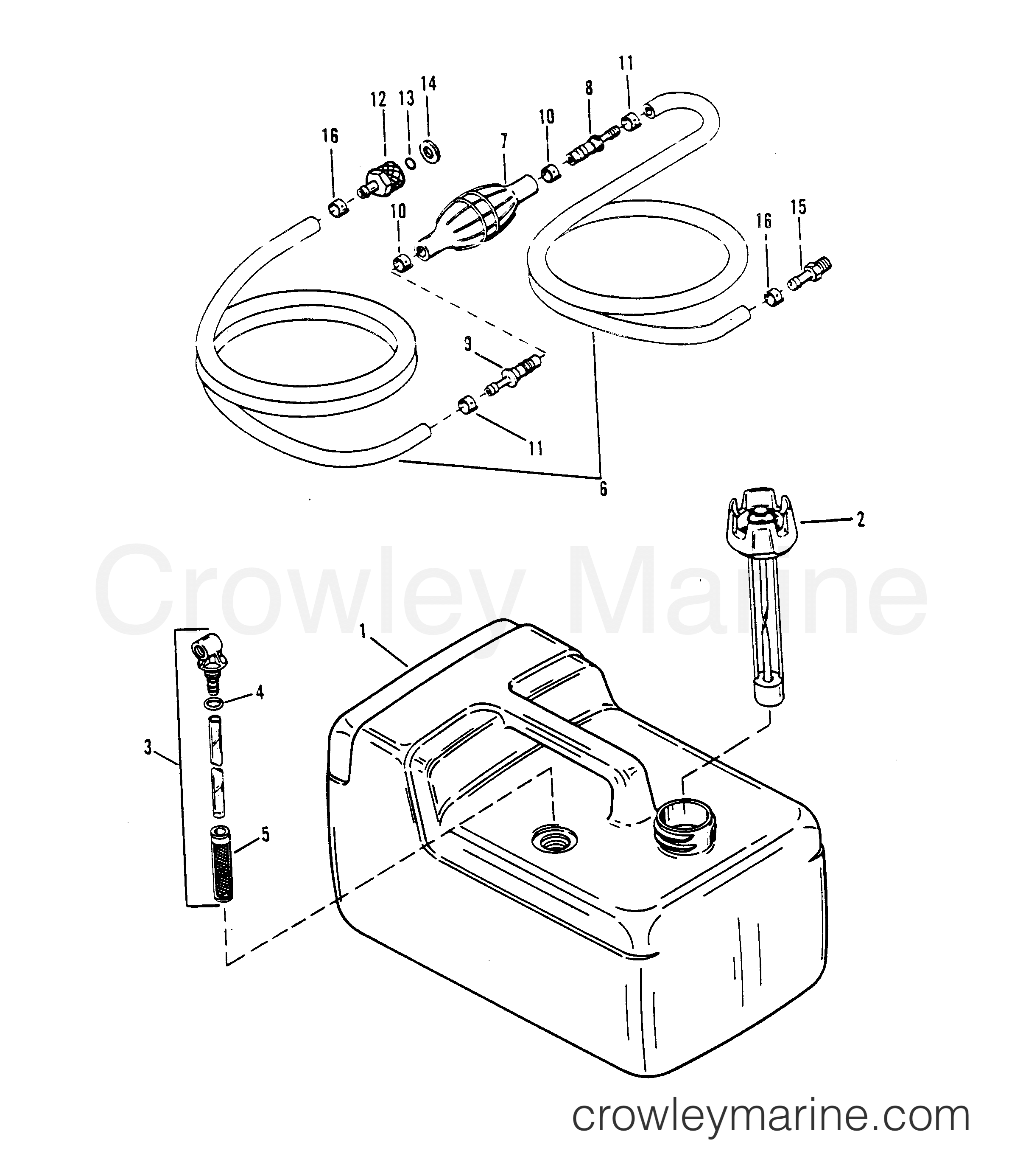 Fuel Tank And Line Plastic