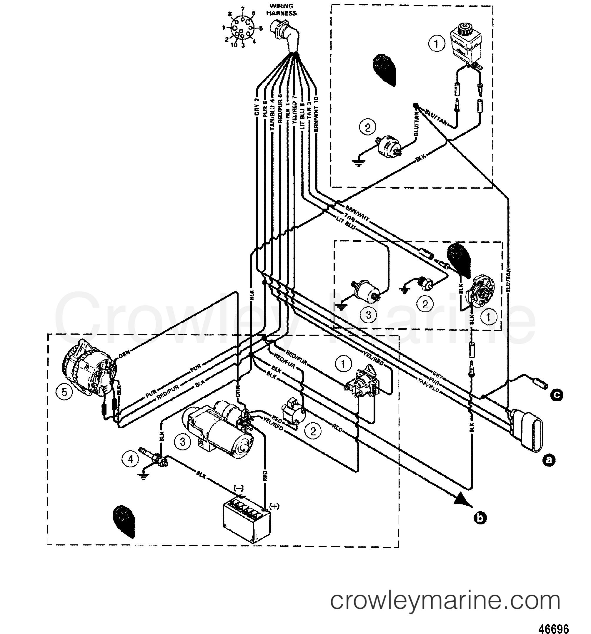 5 7 Tbi Wiring Harnes