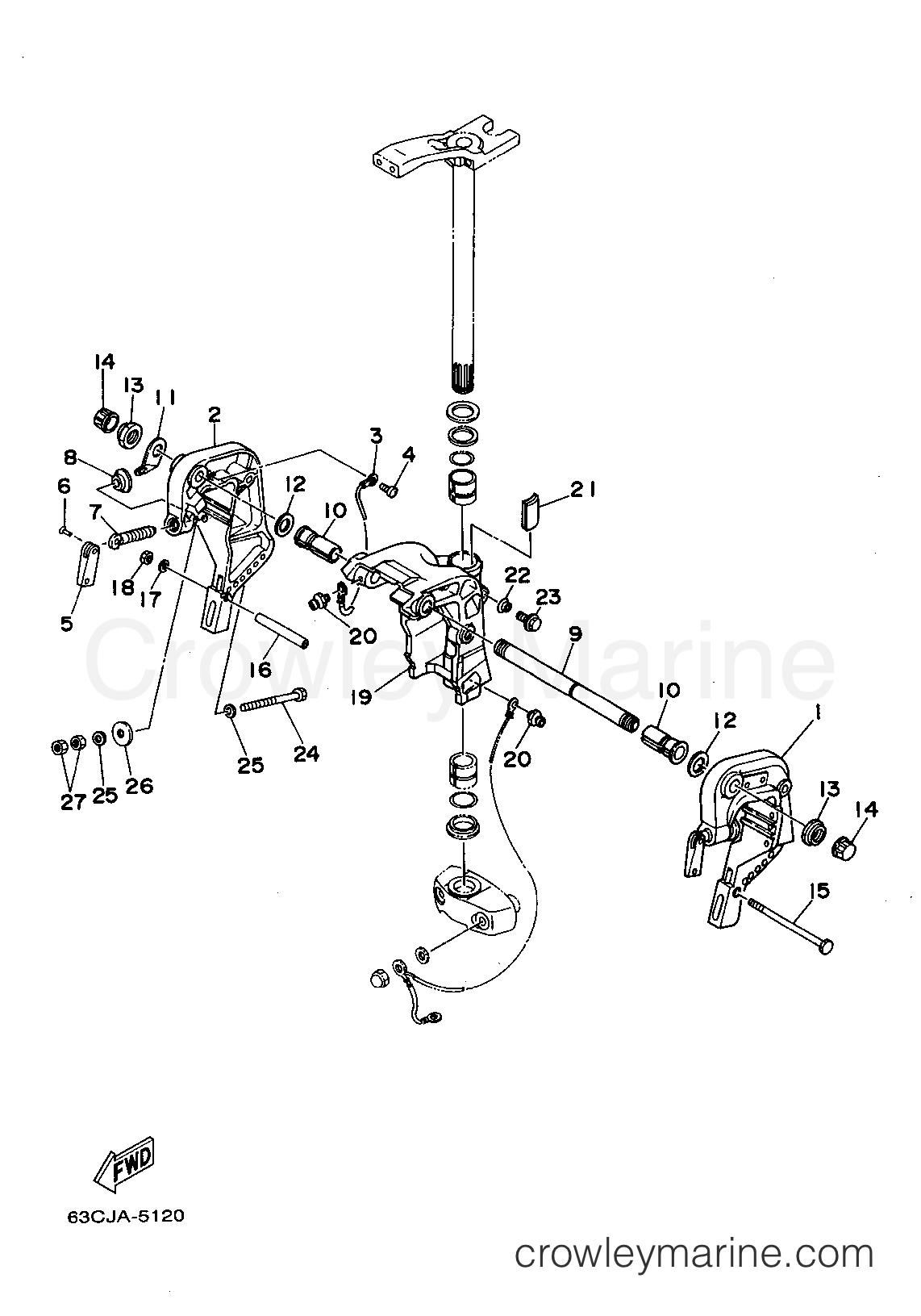 Yamaha Outboard Parts Manual