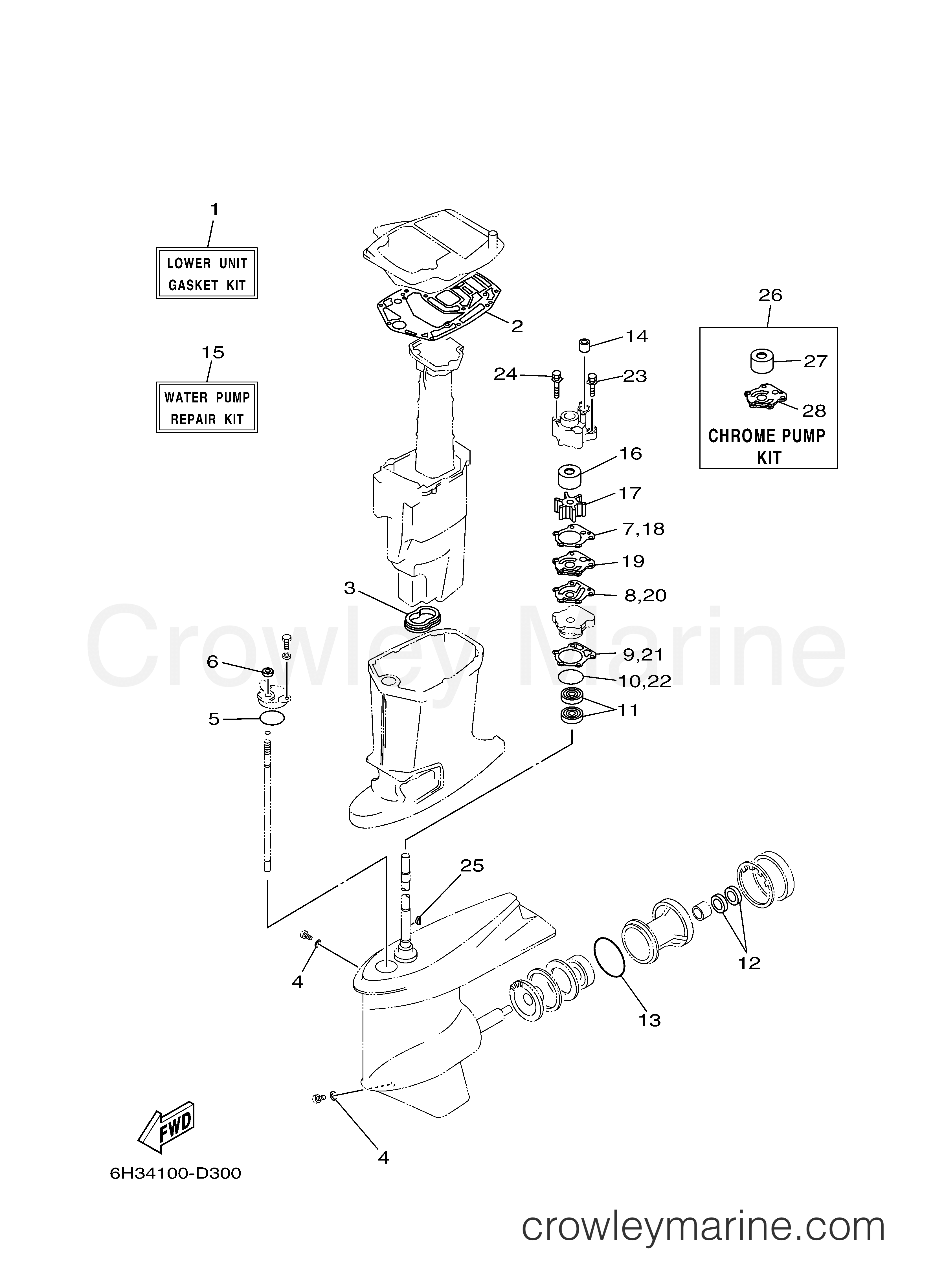 Yamaha 70 Tlr Outboard Electrical Diagram