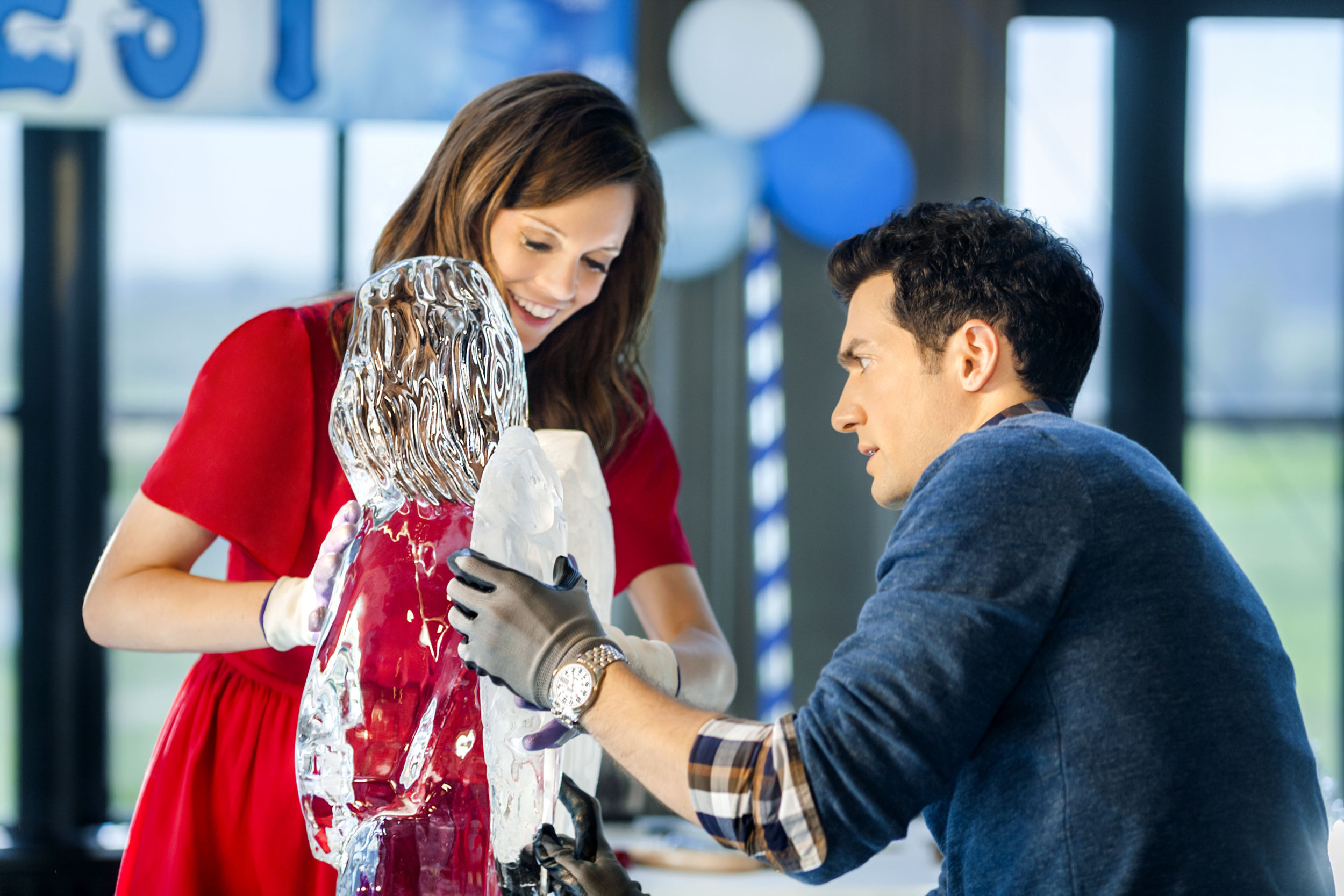 About Ice Sculpture Christmas Hallmark Channel