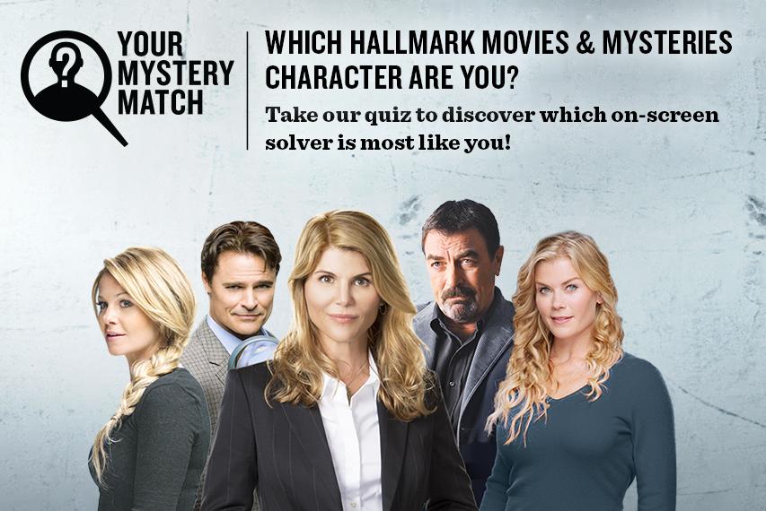 Your Mystery Match Hallmark Movies Amp Mysteries