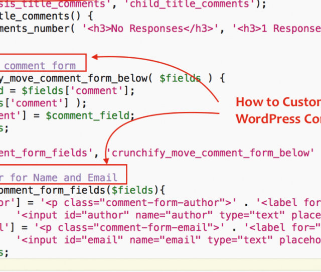 How To Style And Customize WordPress Comment Form Plus Modify Appearance Of Comments With
