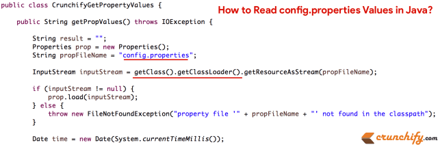 Java Properties File: How to Read config.properties Values in Java