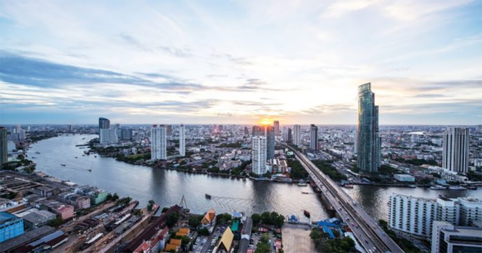 The banks of the Chao Phraya river runs through the heart of the Thai capital of Bangkok. Thailand's government has stated that from April they will be enacting a comprehensive series of laws to govern cryptocurrencies and ICOs.