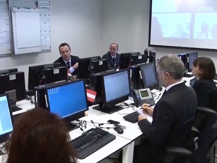 The cybercrime unit at Europol in The Hague, Netherlands. The E.U. law enforcement agency is working closely with cryptocurrency players to develop a strong and robust industry and reduce the nefarious use of cryptocurrencies.