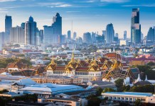 A view of the Royal Palace in downtown Bangkok. Thailand's digital asset decree is awaiting publication in the Royal Gazette.