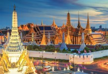 The grand palace in Thailand. Thailand's comprehensive cryptocurrency and ICO laws are due to kick into effect from July 16, 2018.