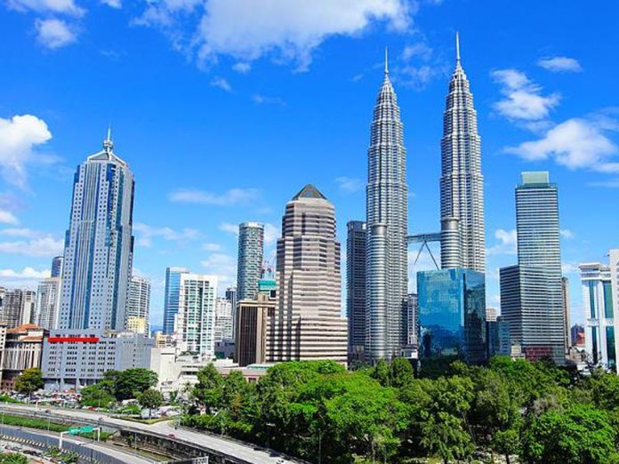 The skyline of Kuala Lumpur, capital of Malaysia. The cryptocurrency scene in Malaysia has enjoyed the relatively hands-off approach of financial regulators.