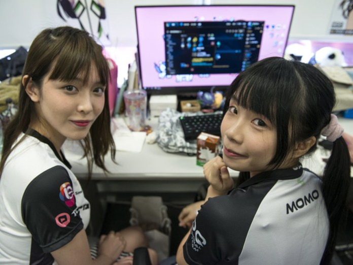Female professional gamers have been increasingly popular and can command huge followings in Asia.
