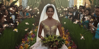 """The wedding scene from """"Crazy Rich Asians."""" Wealth preservation is a key theme among Asia's moneyed aristocracy and marriage is one way to strengthen alliances."""