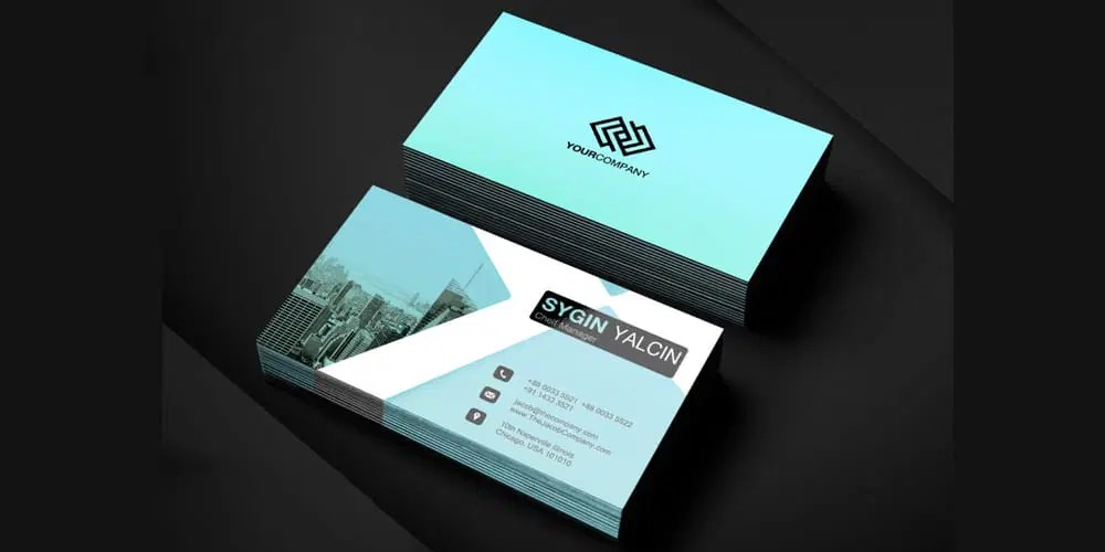 100  Free Business Cards PSD      The Best of Free Business Cards Office Business Card Template PSD