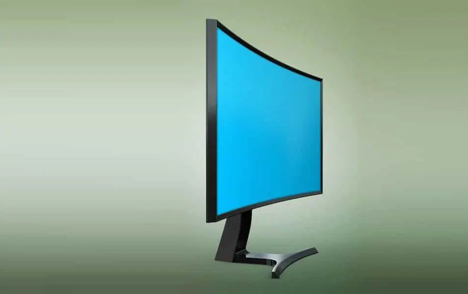 Curved Monitor Mockup Css Author