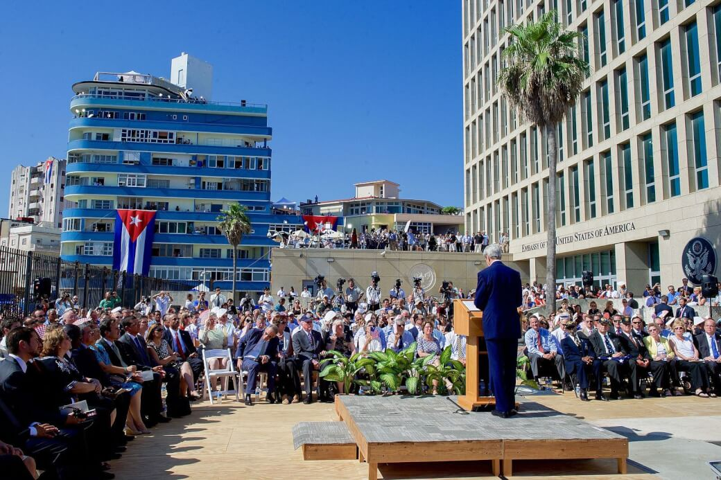 Image result for photos us embassy in cuba