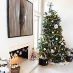 Black And White Christmas Theme With Buffalo Plaid Decor And Inspiration