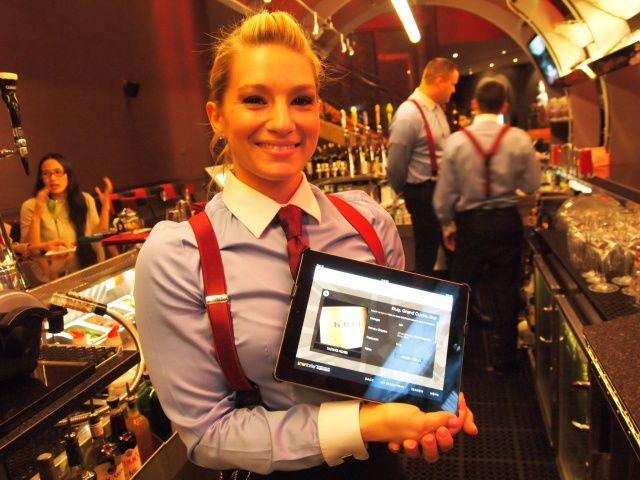 Ipad Menus Keep It Green At Gordon Ramsay S Steak In Vegas