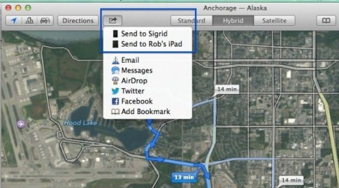 Here s How To Send Directions From OS X Mavericks Maps To Your iOS     Here s How To Send Directions From OS X Mavericks Maps To Your iOS Device   OS X Tips