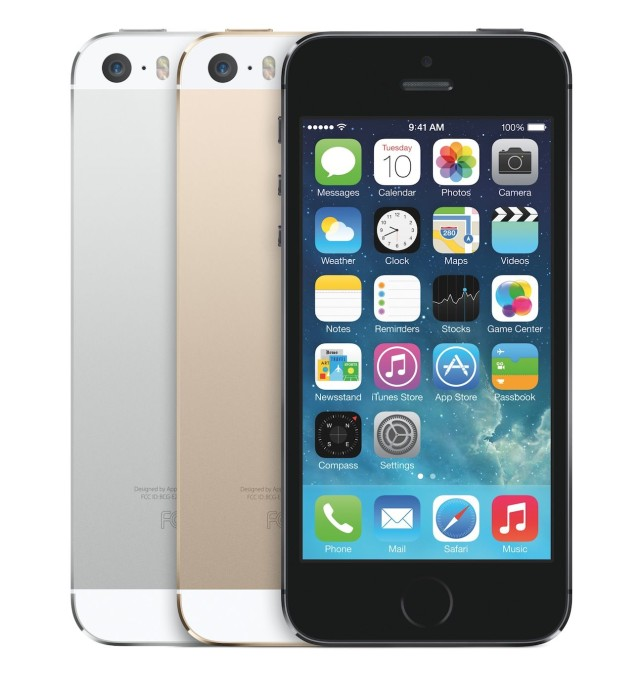 iPhone 5S 3 colors