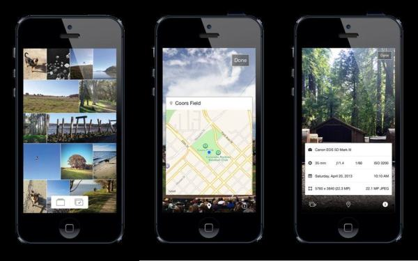 Photos+ For iPhone, A Better Photo-Browsing App With Maps ...