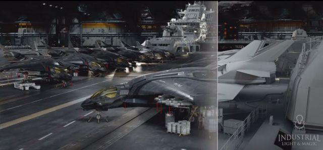 A fascinating look behind the scenes at a CGI-heavy movie. Photo: Marvel/Disney