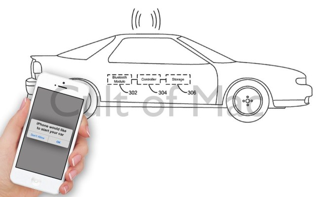 Drive your car? There's an app for that. Photo: Cult of Mac/USPTO
