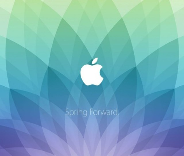 Spring Forward Wallpapers Put Apple Watch Invite On Your Mac And Iphone