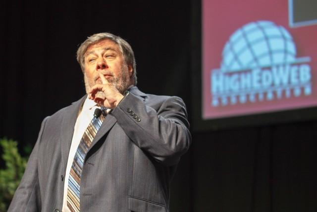 Steve Wozniak. Photo: HigherEdWeb/Flickr CC