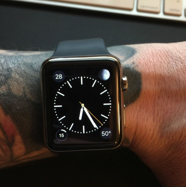 Using an Apple Watch with a tattoo gives some users a (s)inking feeling. Photo: