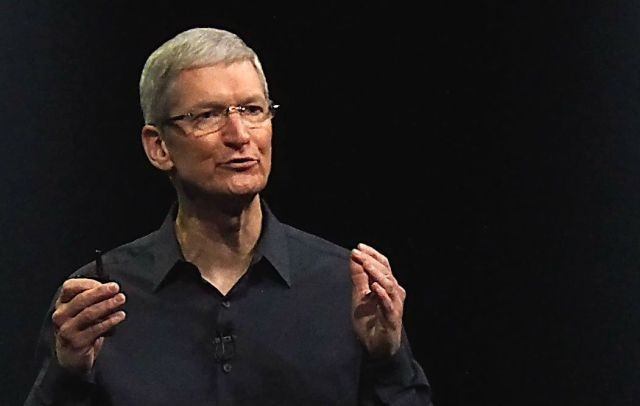 Tim Cook knows that haters gonna hate, hate, hate. Photo: Apple