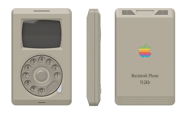 Macintosh Phone shows how iPhone would've looked like in '84