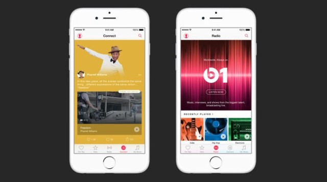 Apple Music arrives on June 30 with 24/7 internet radio.