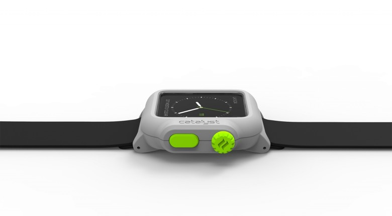 The new waterproof case for the Apple Watch by Catalyst.