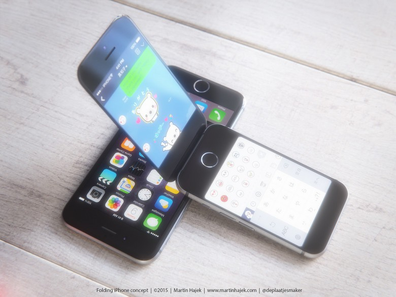 A dual-screen iPhone wouldn't be such a bad idea.
