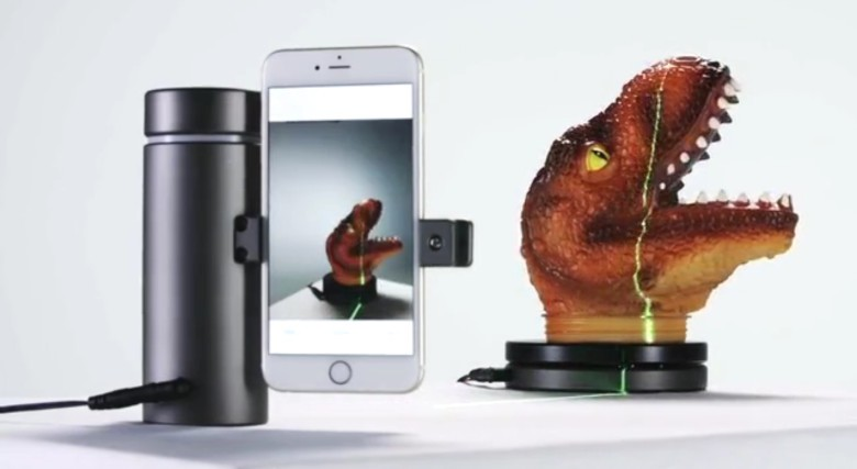 Eora 3D scanner for iPhone