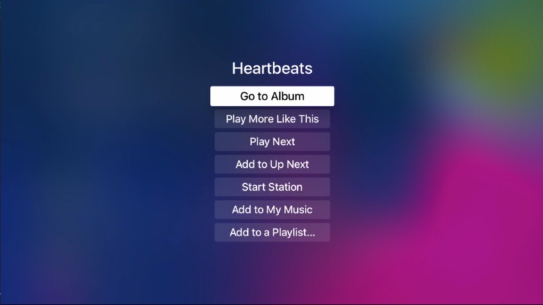 An Apple Music fan needs options, ok?