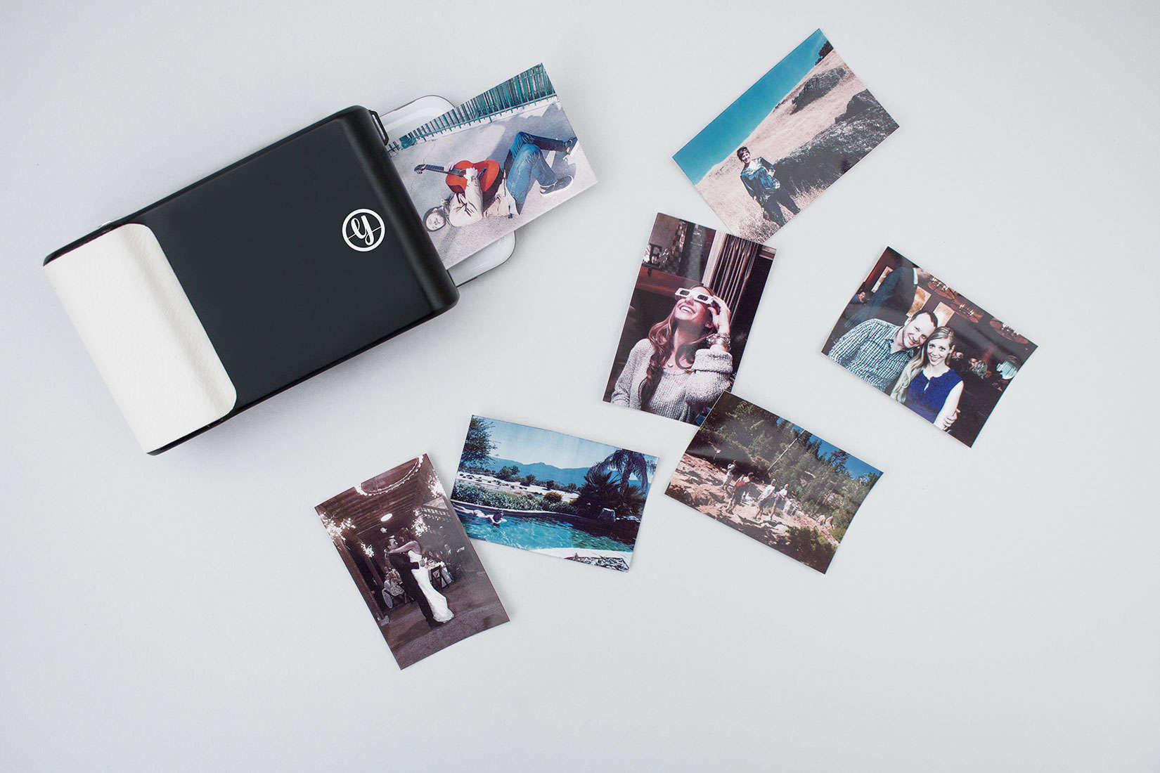 Don't leave your memories in the digital abyss. The life you record can be printed as you go.