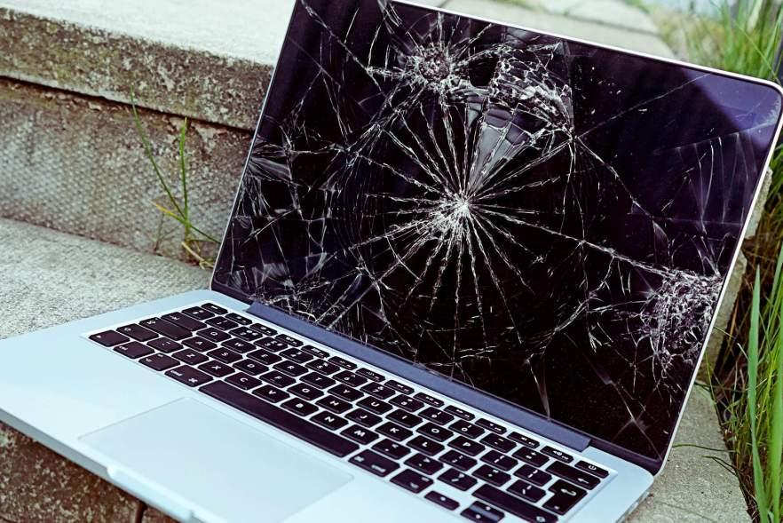 Image result for damaged macbook