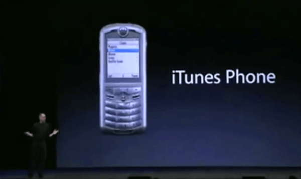 Today in Apple history: Steve Jobs unveils Rokr E1, the ...
