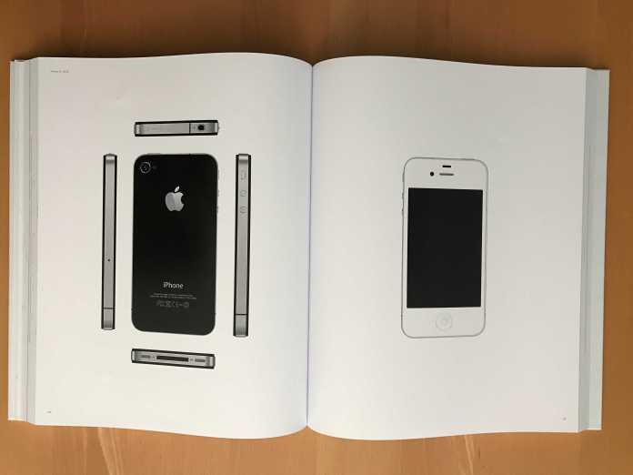 An iPhone 4 spread.