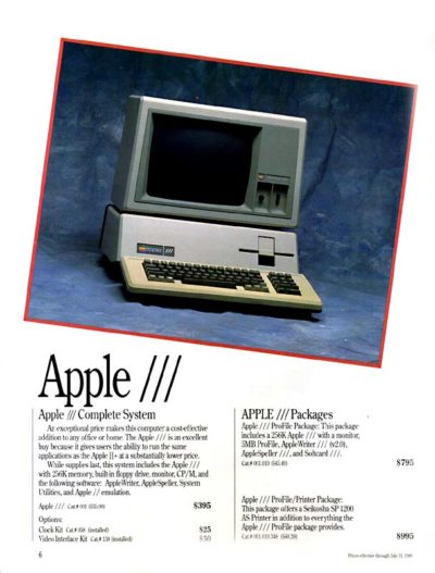The Apple III in all its glory