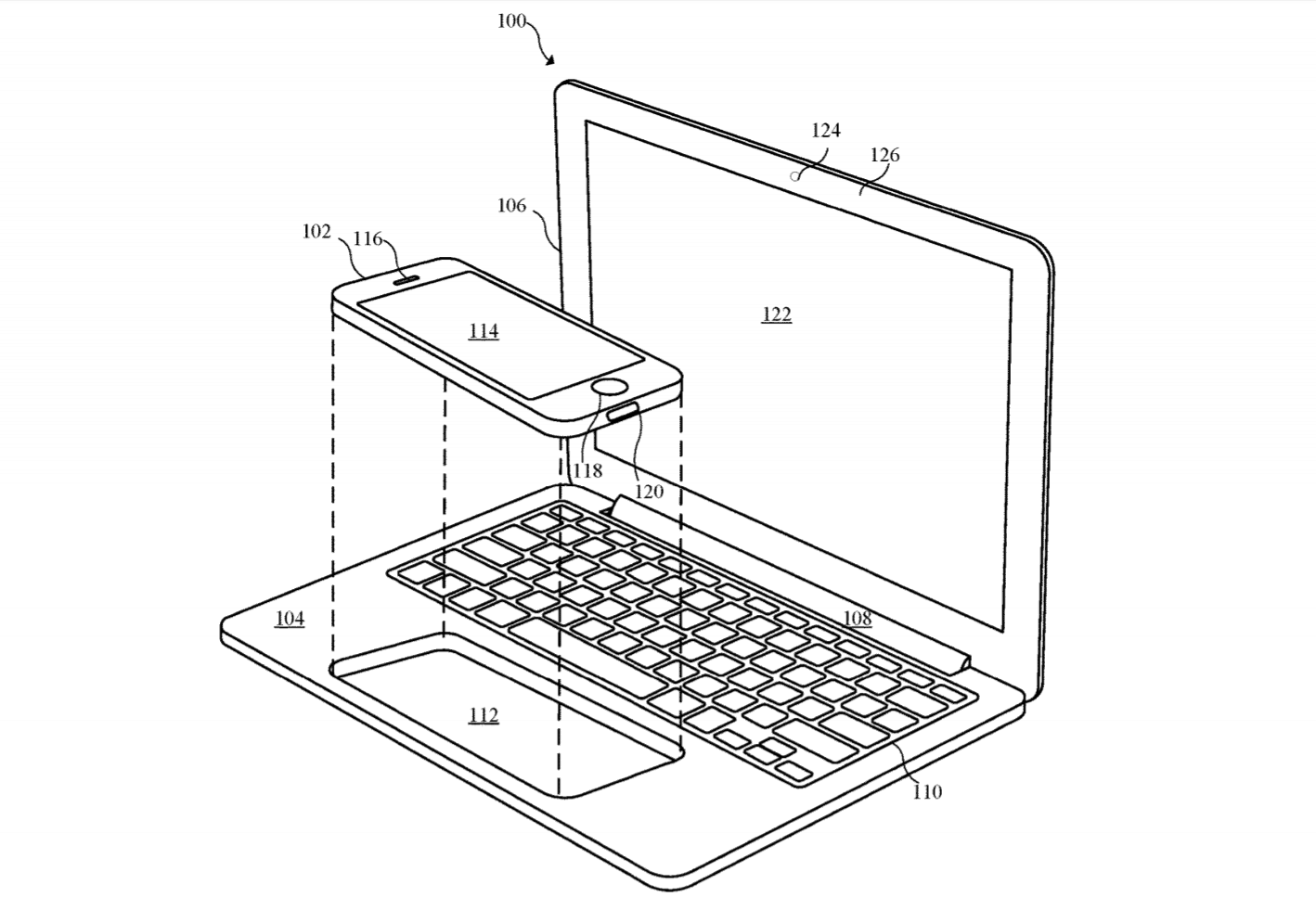 Apple Dock Could Turn Your Iphone Into A Macbook