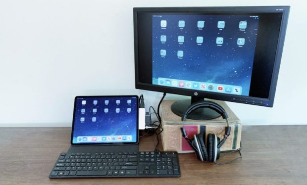 HyperDrive, iPad Pro, and accessories