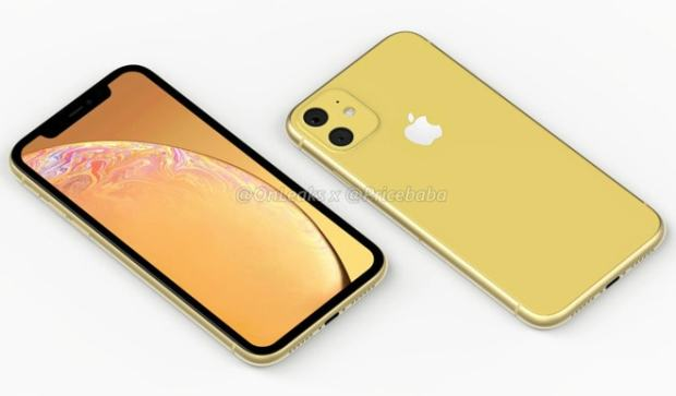 iPhone XR 2019 render