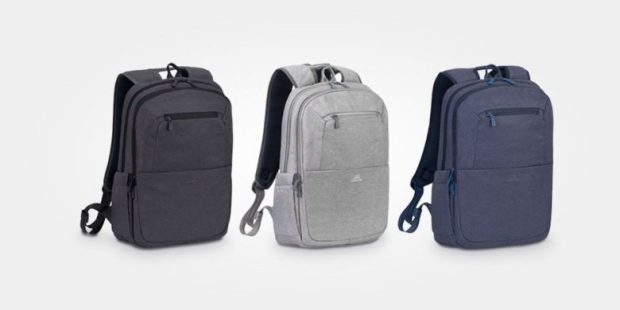 This backpack is sleek, light, water resistant, and has plenty of space for your laptop and other gear.