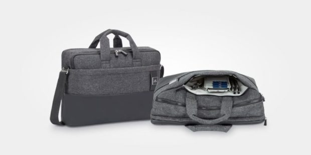For those who prefer to carry their gear than to wear it, there's this sleek, lightweight, hip bag.