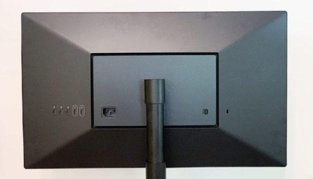 LG UltraFine 4K rear