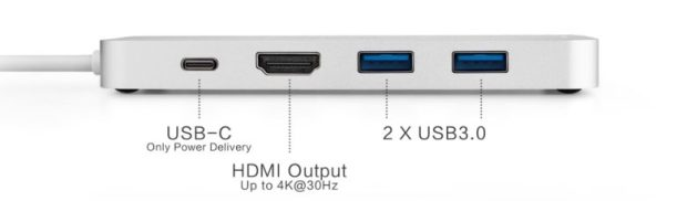 Minix Neo Storage USB-C ports