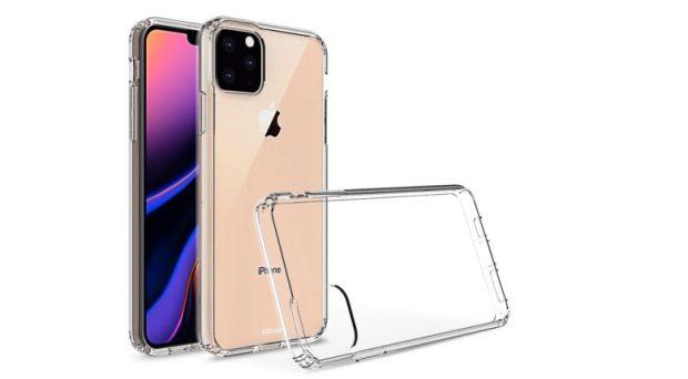 iPhone 11 in Olixar case